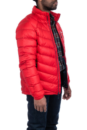 Ultralight 850 Down Jacket in Dark Red - Philistine