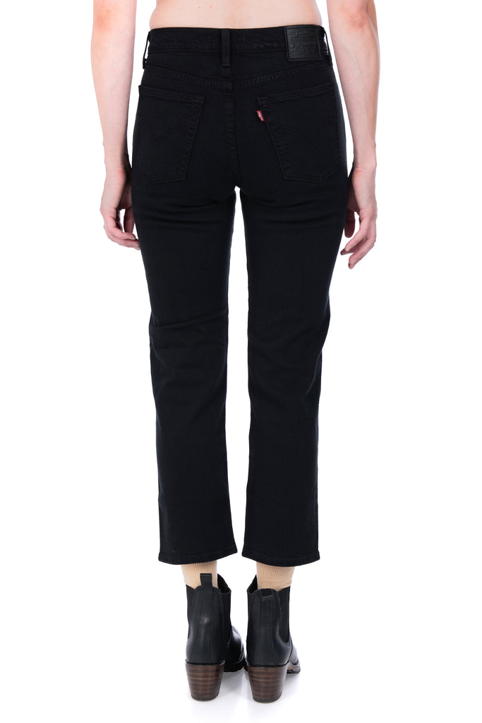 Women's Levi's Wedgie Straight in Black Heart