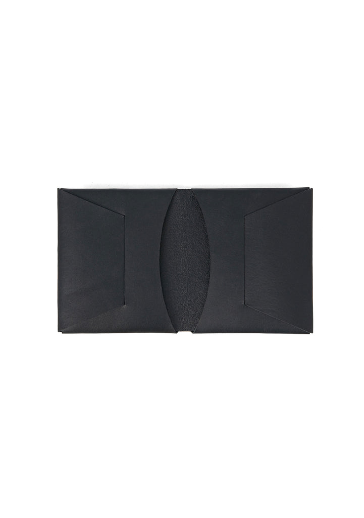 Men's Apogee Leather Stitchless Wallet in Black