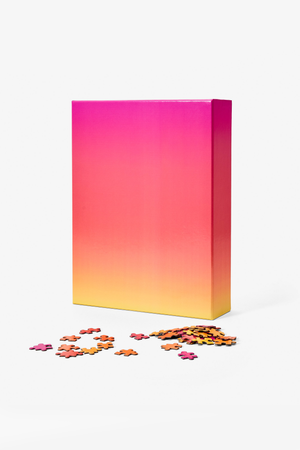 Giant Gradient Puzzle in Pink/Yellow - Philistine