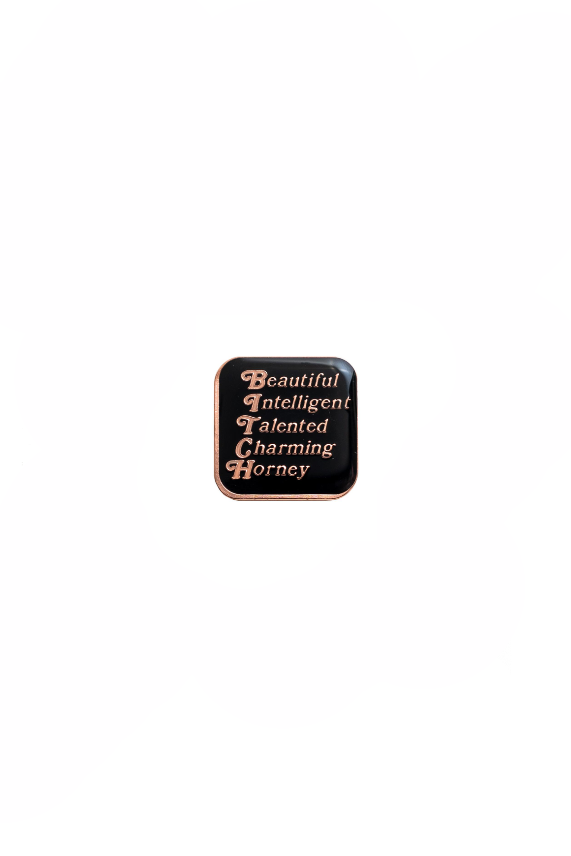 Beautiful and Talented Lapel Pin