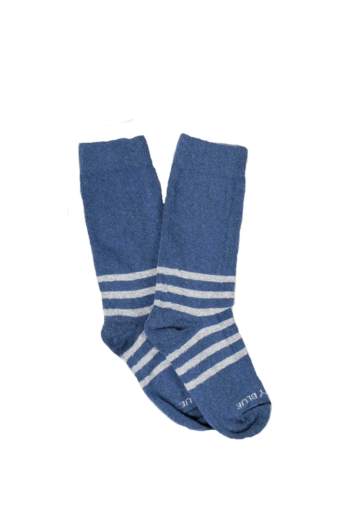 Bartrams Sock in Blue Stripe - Philistine