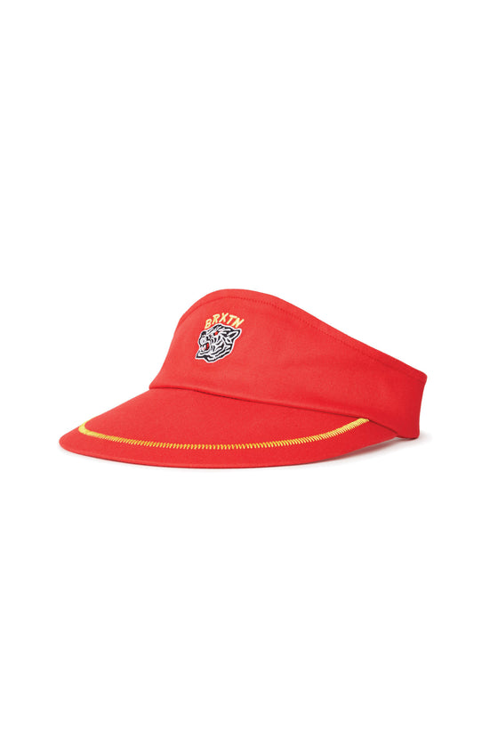 Women's Brixton Gabriel Visor in Red