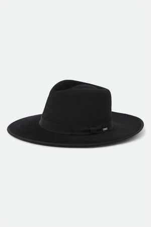 Brixton Joanna Rancher Hat in Black