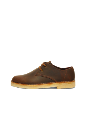 Men's Clarks Originals Desert Khan in Beeswax