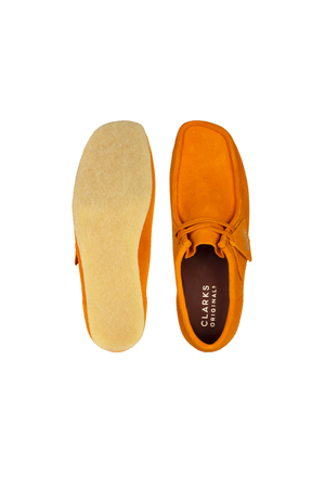Men's Clarks Originals Wallabee in Tumeric