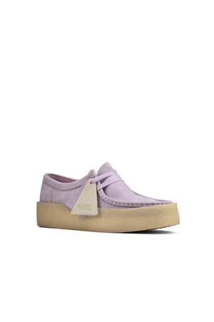 Women's Clarks Originals Wallabee Cup in Lilac