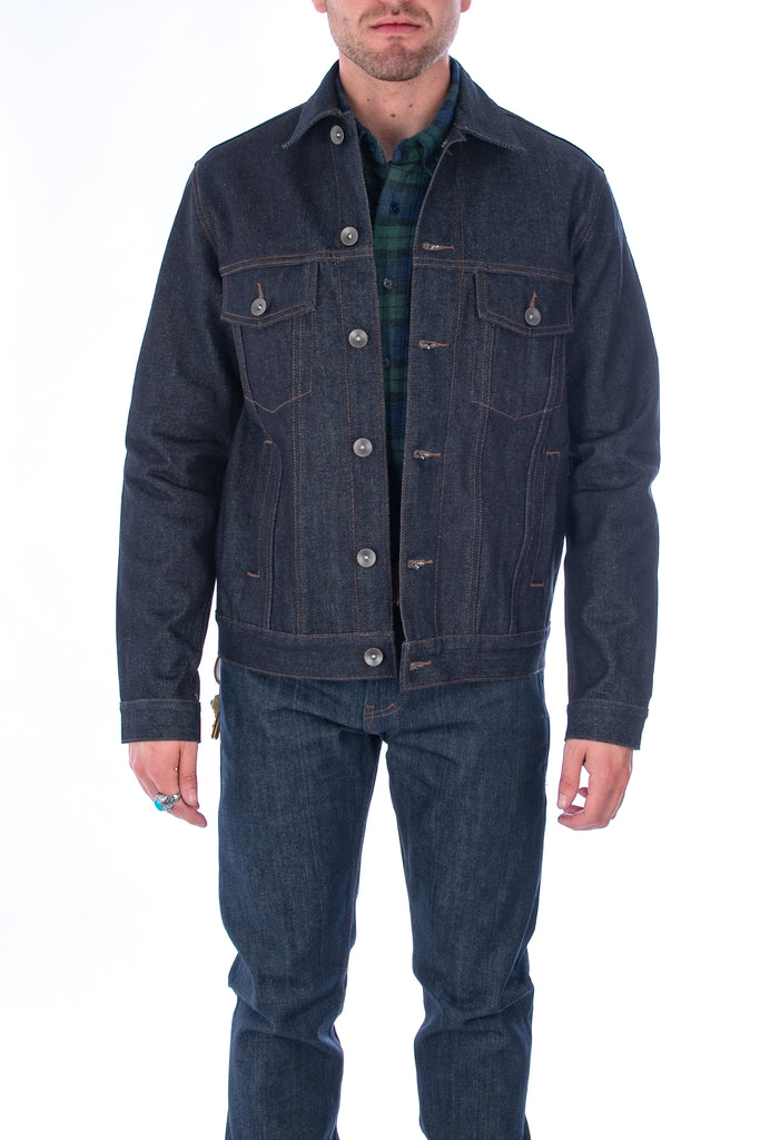 Men's Unbranded 14.5oz Denim Selvedge Jacket