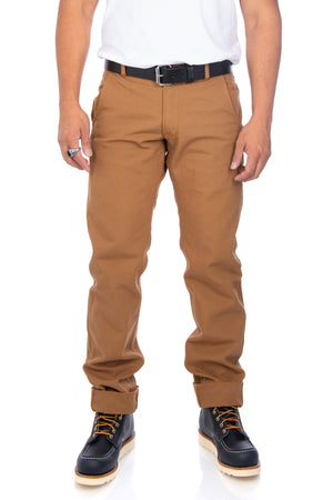 Flight Trousers in Camel - Philistine