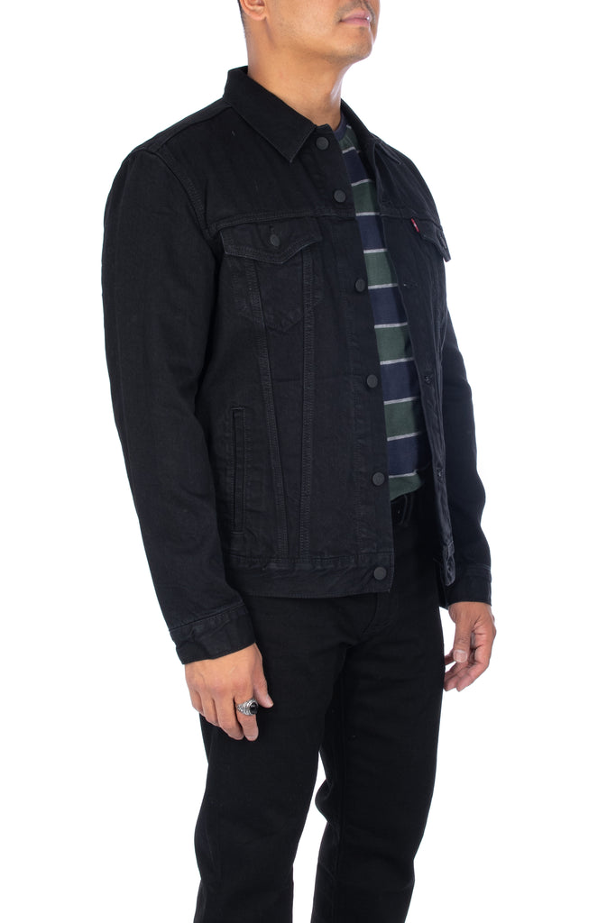 Men's Levi's Trucker Jacket in Berkman Black