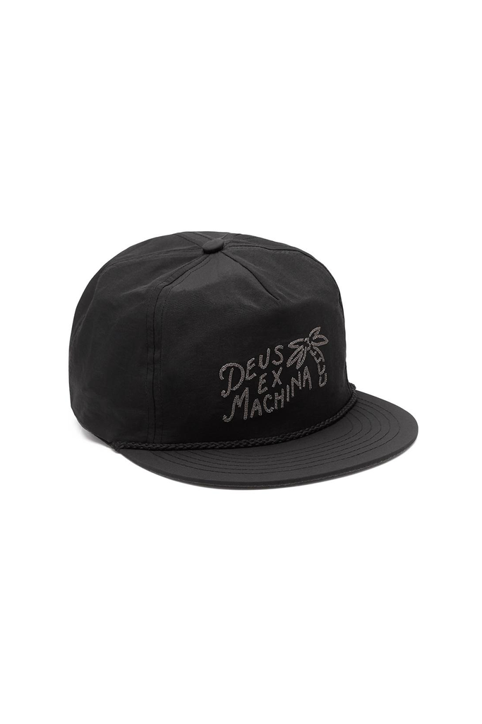 Deus Ex Machina Holiday Cap in Black
