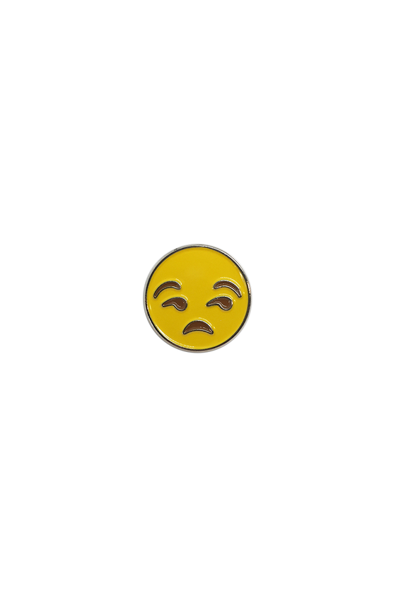 Annoyed Emoji Lapel Pin - Philistine
