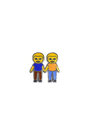 Boy and Boy Emoji Lapel Pin - Philistine
