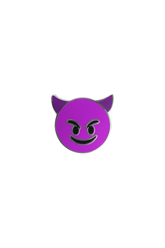 Devil Emoji Lapel Pin - Philistine