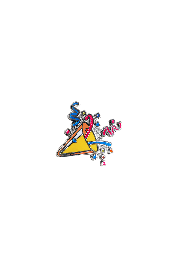 Party Popper Emoji Lapel Pin - Philistine