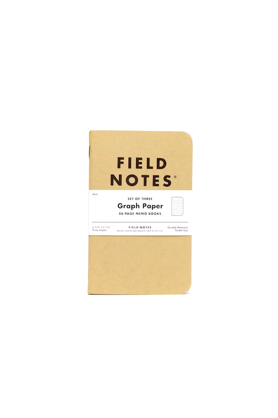Original Kraft Graph Paper 3 Pack - Philistine