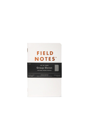 Field Notes Group Eleven Notebook 3 Pack