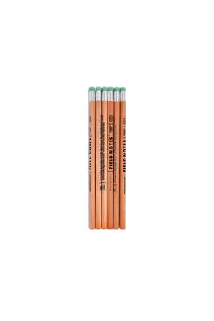 No 2 Wood Grain Pencil 6 Pack - Philistine