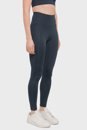 Women's Girlfriend Collective High Rise Compressive Legging in Midnight