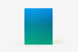 Gradient Puzzle in Blue/Green - Philistine