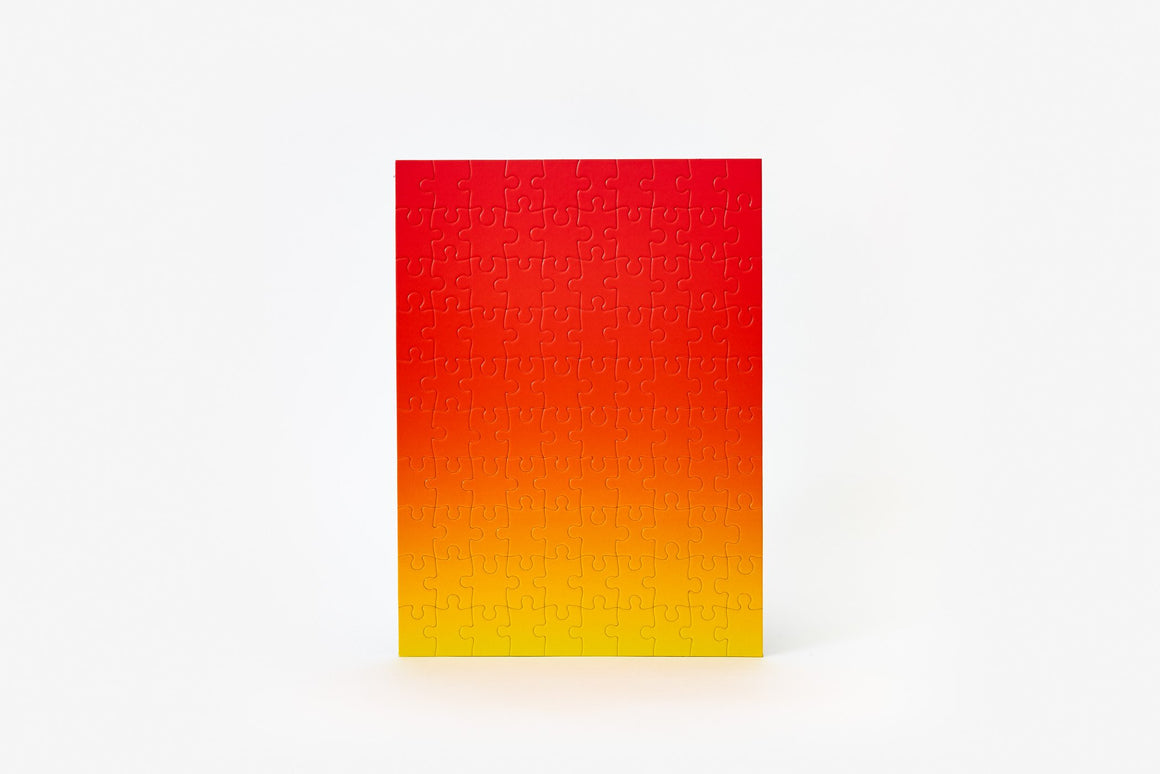 Gradient Puzzle in Red/Yellow - Philistine