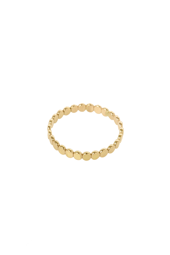 Beaded Ring in Gold - Philistine