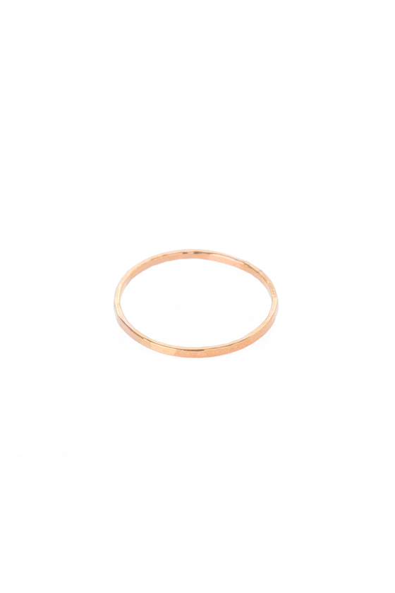 Women's Hannah Naomi Medium Stacker in Rose Gold