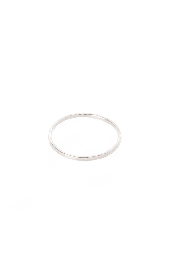 Women's Hannah Naomi Medium Stacker Ring in Silver