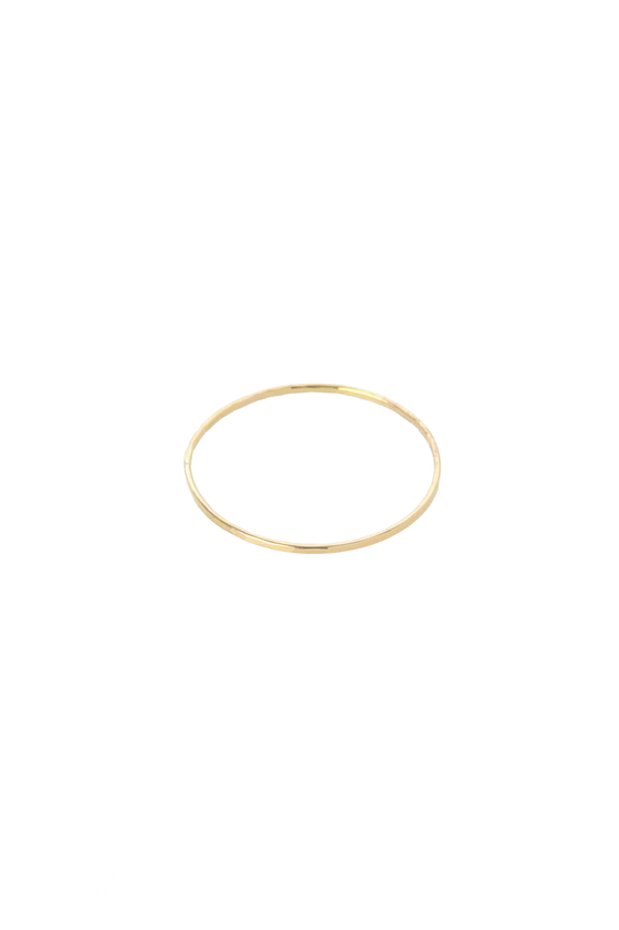Women's Hannah Naomi Thin Stacker Ring in Gold