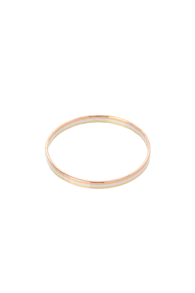 Women's Hannah Naomi Thin Stacker Ring in Rose Gold