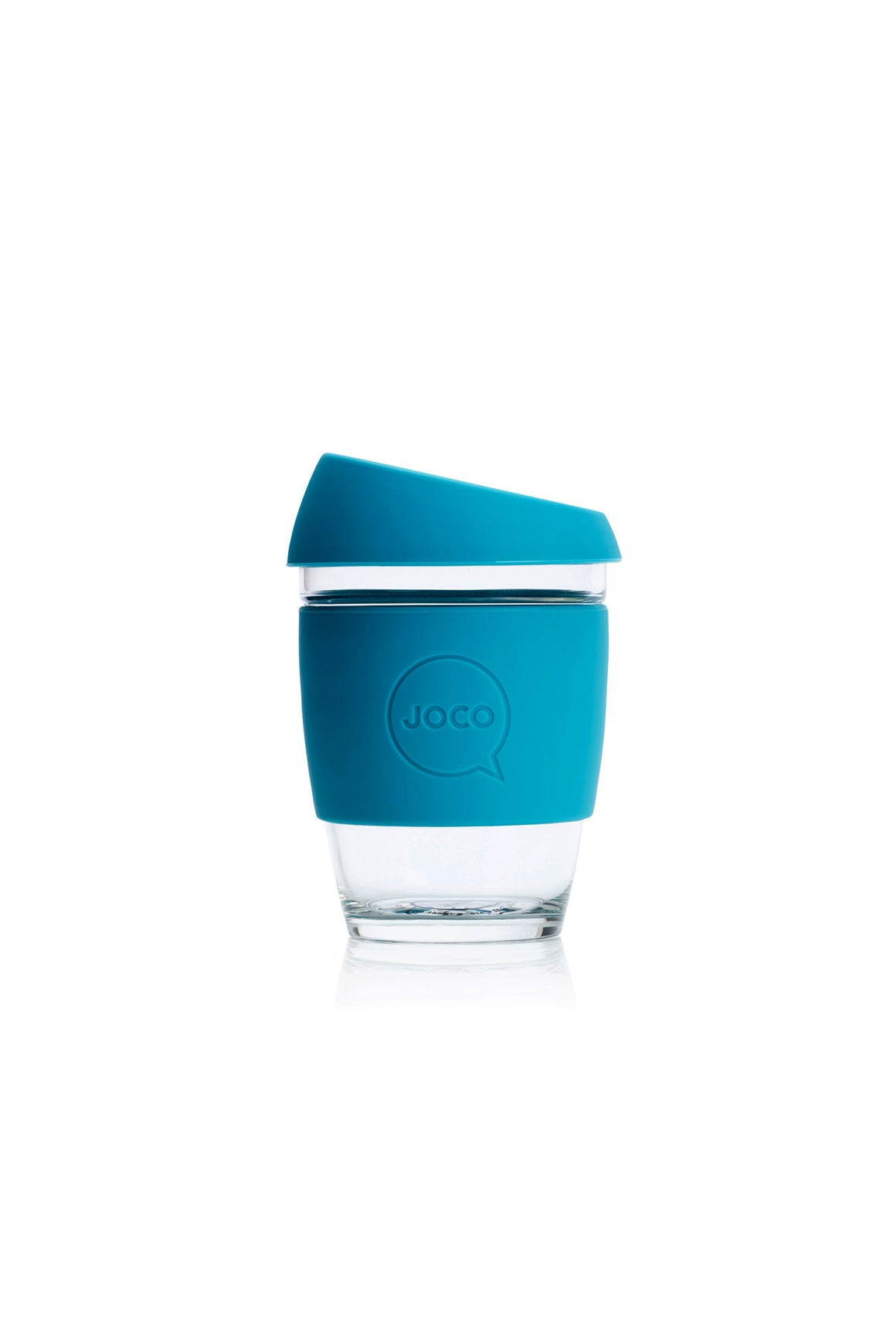 Reusable Glass Cup in Blue - Philistine