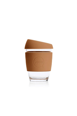 Reusable Glass Cup in Butterum - Philistine