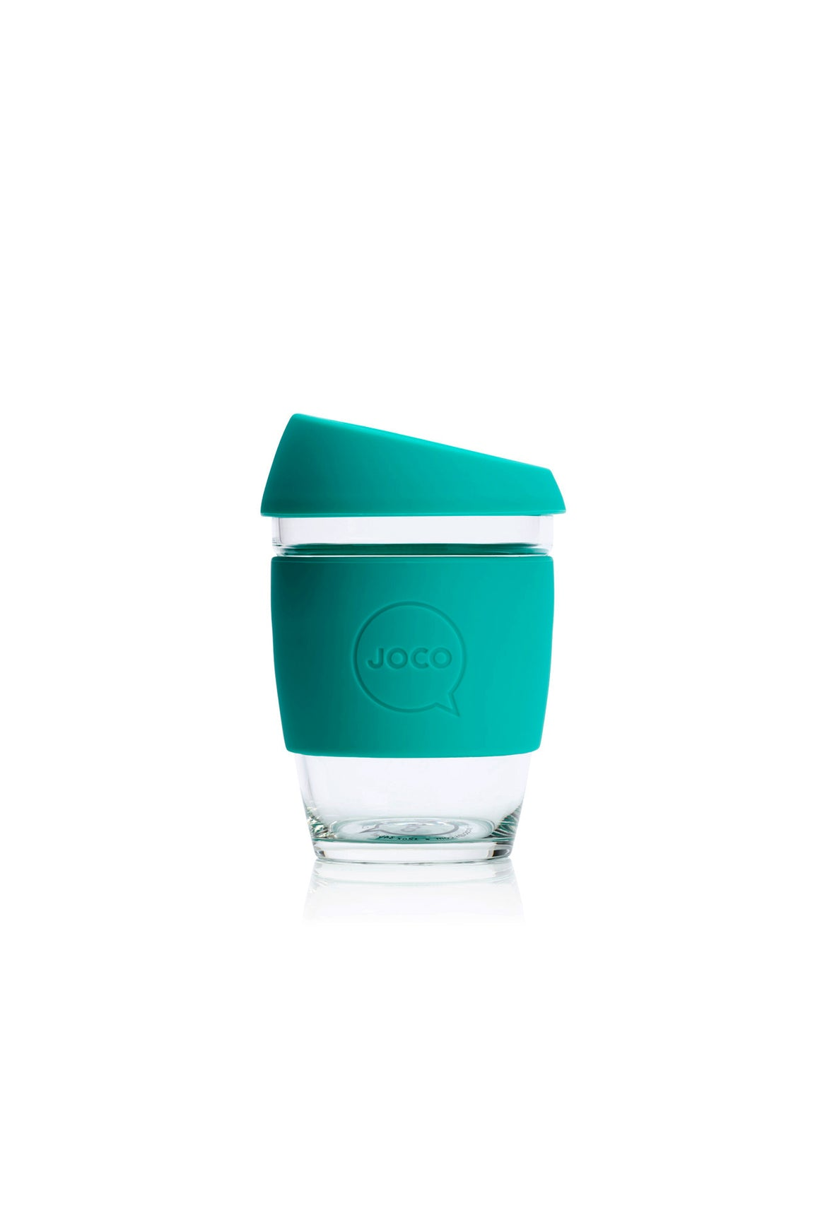 Reusable Glass Cup in Mint - Philistine