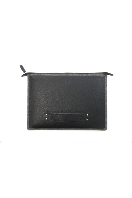 Kiko Leather MacBook Go Case
