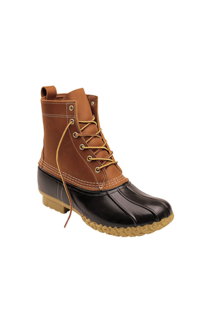 "Women's Original 8"" Bean Boot in Tan/Brown - Philistine"