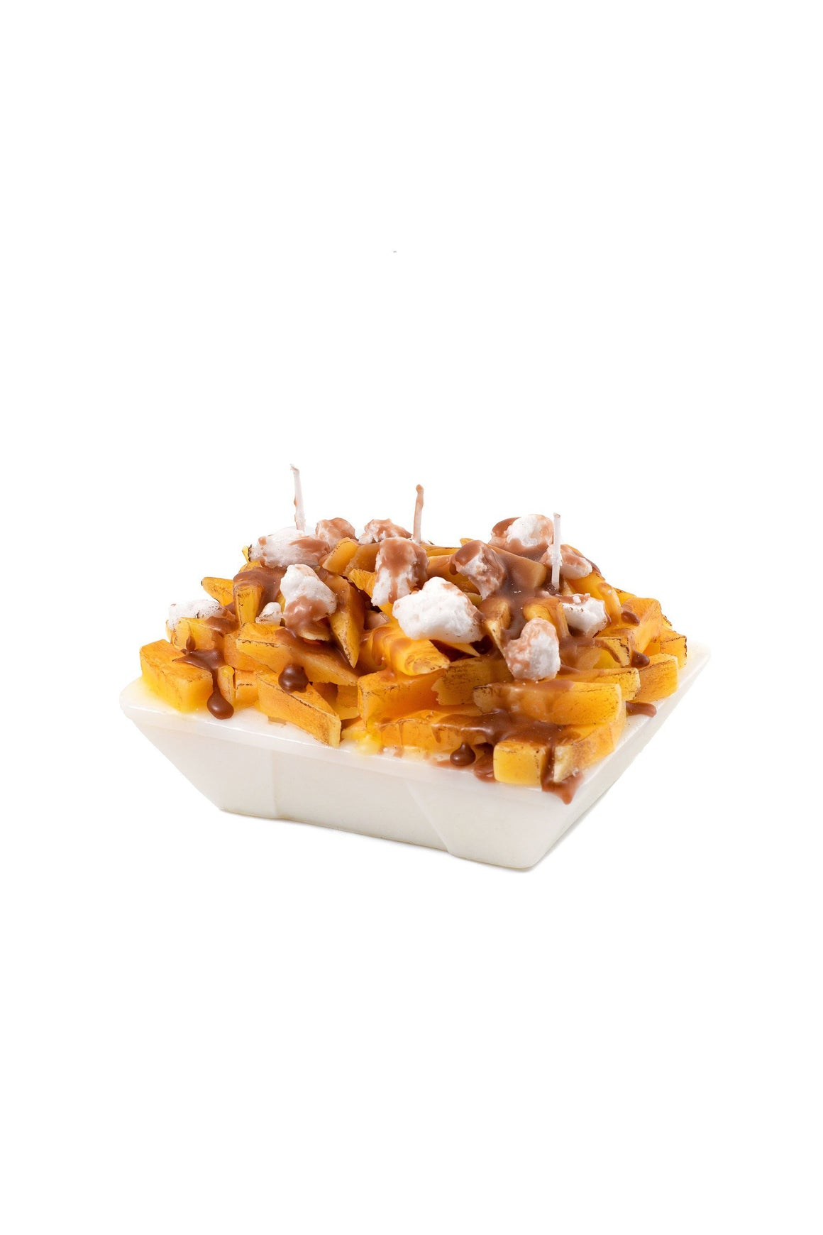 Main and Local Poutine Candle
