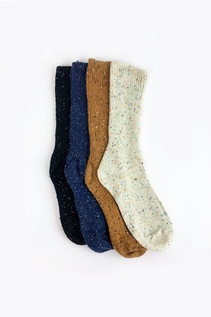 Women's Multi Fleck Boot Sock