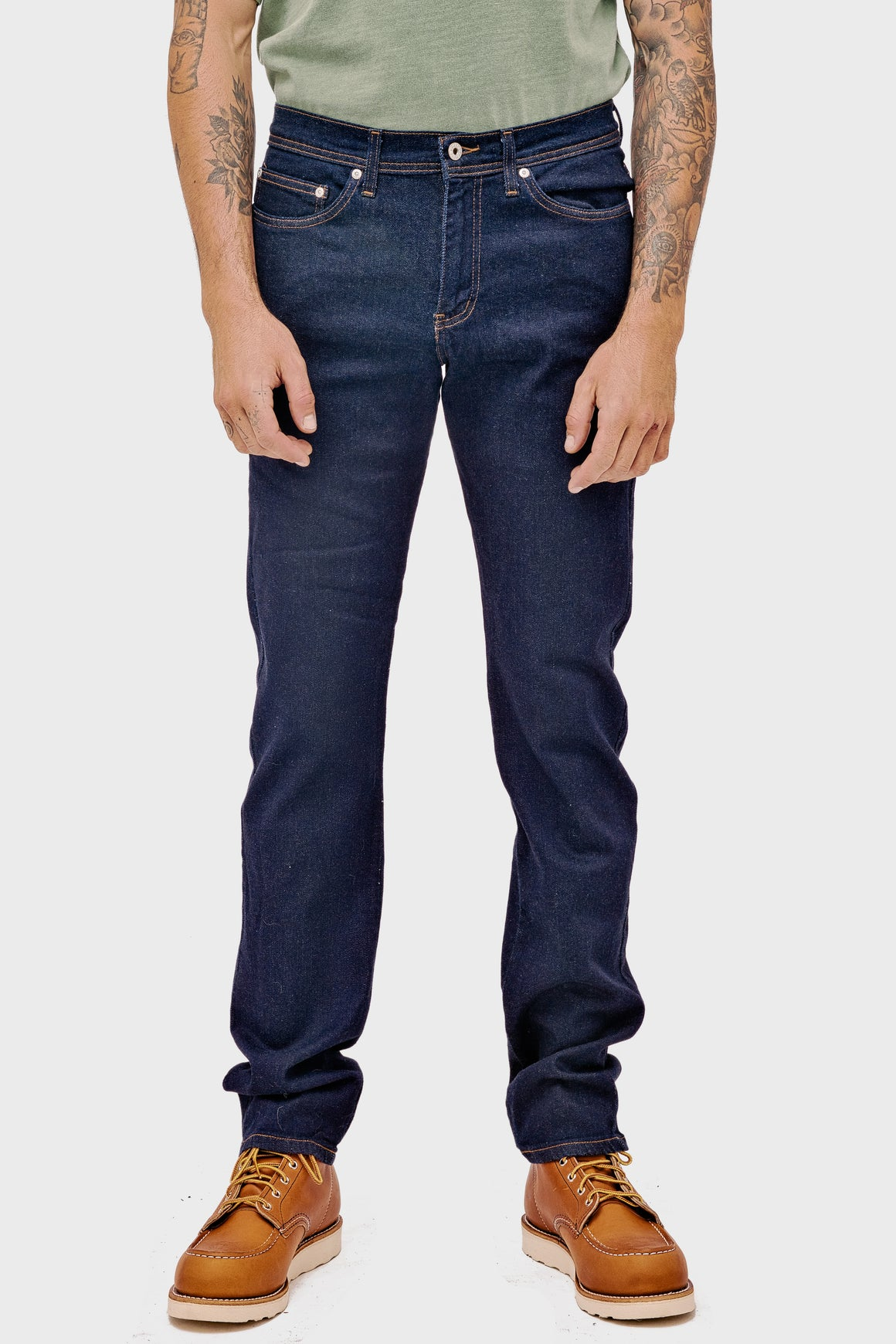 Men's Naked & Famous Weird Guy Active Motion Denim