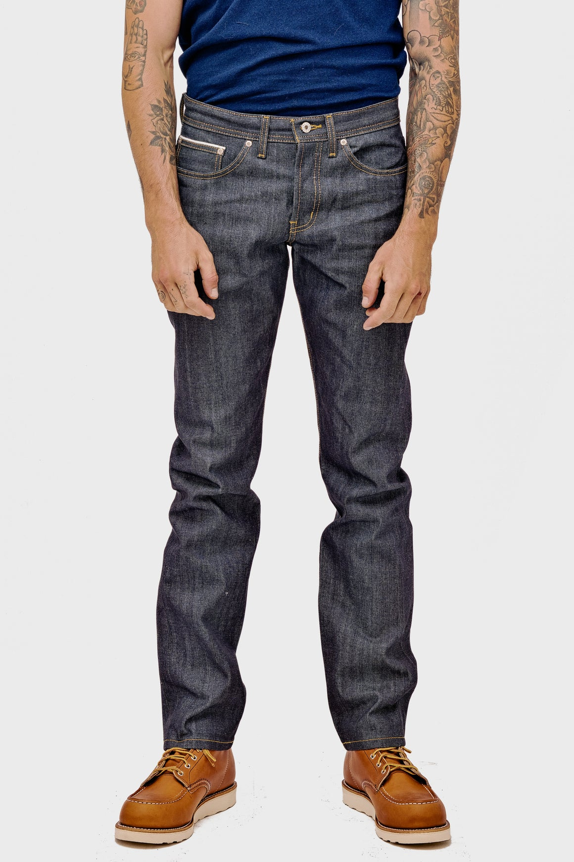 Men's Naked & Famous Weird Guy Left Hand Twill Selvedge