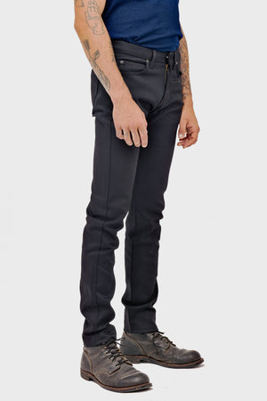 Men's Naked & Famous Super Guy Black Power Stretch