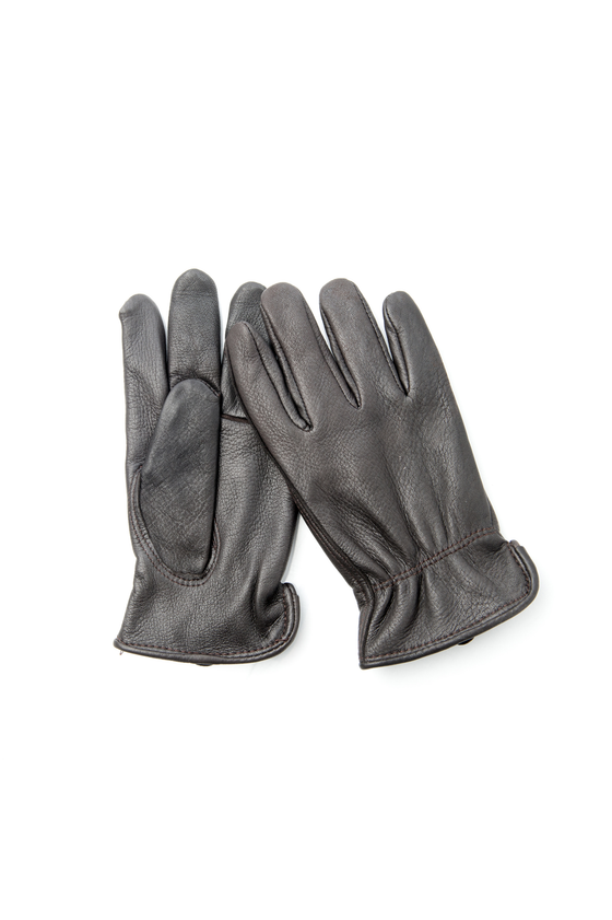 Men's Leather Roper Glove in Brown