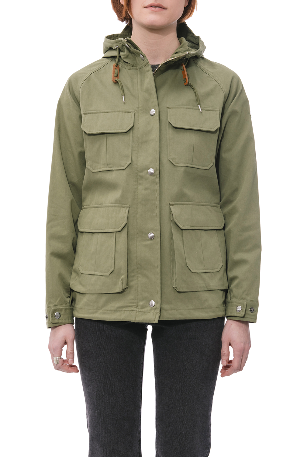 Vassan Jacket in Olive - Philistine