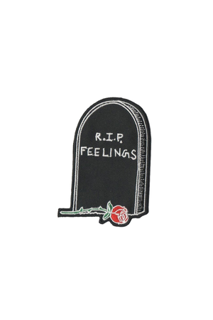 RIP Feelings Patch - Philistine