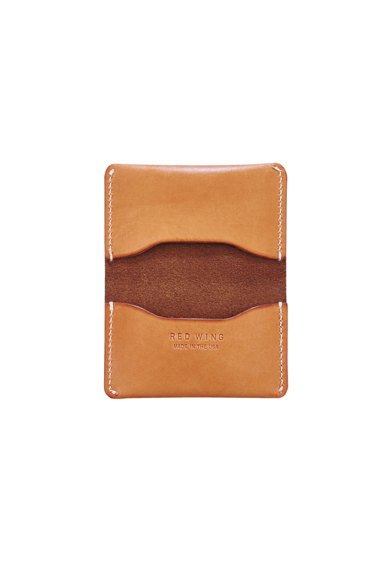 Red Wing Heritage Card Holder Wallet in London Tan