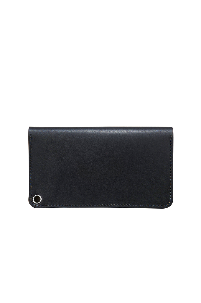 Red Wing Heritage Trucker Wallet in Black Frontier Leather