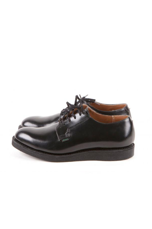 Postman Oxford in Black Chaparral - Philistine