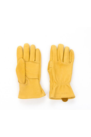 Red Wing Buckskin Gloves in Yellow - Philistine