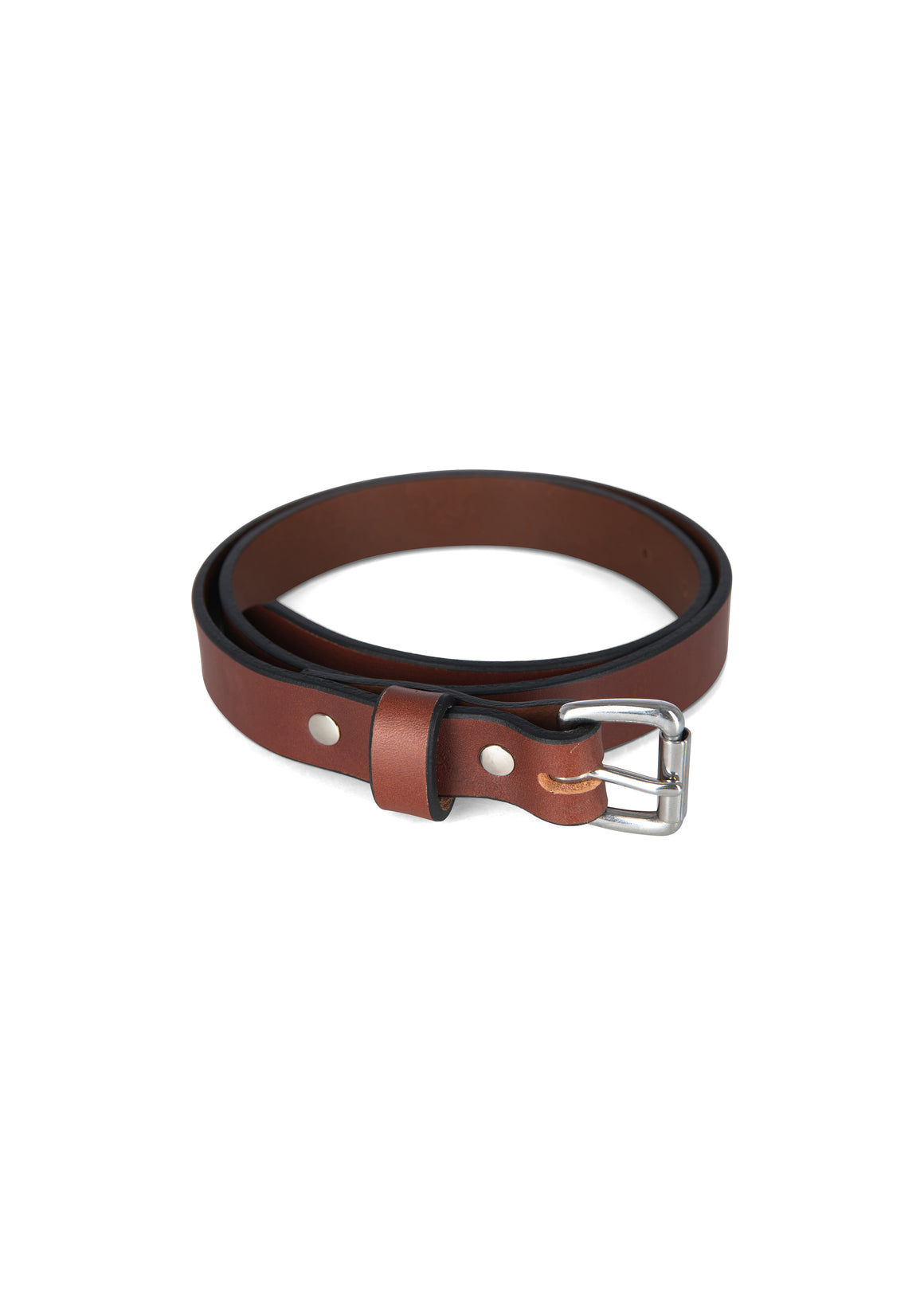 Slim Belt in Chestnut - Philistine
