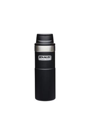 Trigger Action Travel Mug in Black - Philistine