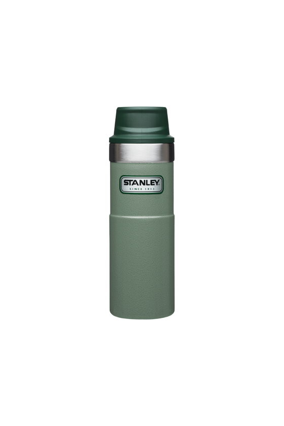 Stanley Trigger Action Travel Mug in Hammertone Green